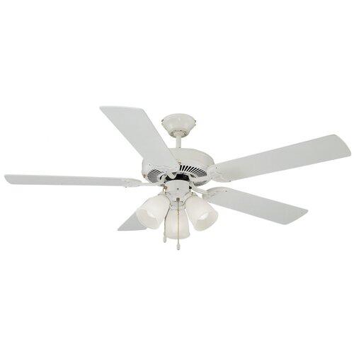 """Design House 52"""" Mill Bridge 5 Blade Ceiling Fan"""