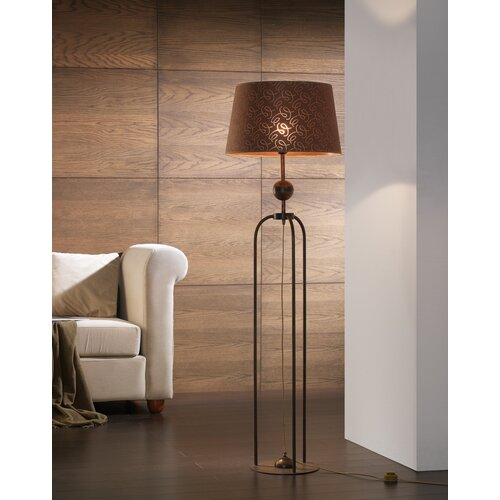 Lustrarte Lighting Contemporary Triplex 1 Light Floor Lamp