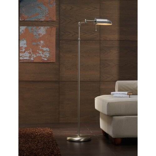 Lustrarte Lighting Contemporary Office 1 Light Floor Lamp