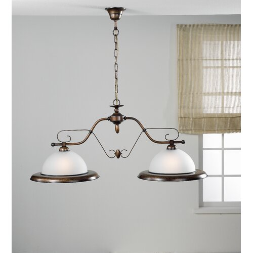 Lustrarte Lighting Rustik Rustik Two Light Chandelier