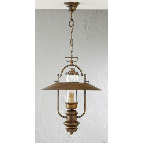 Rustik Candeia 1 Light Pendant