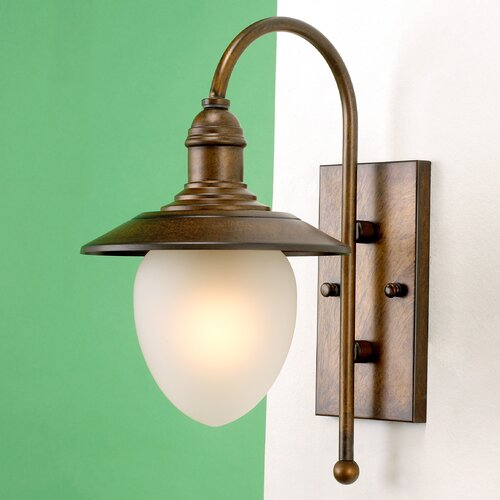Lustrarte Lighting Nautik 1 Light Outdoor Wall Lantern