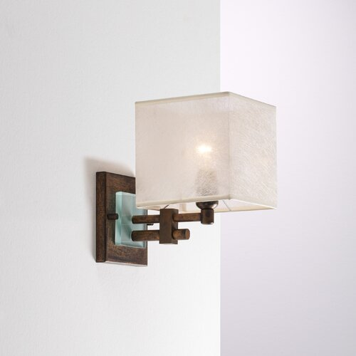 Lustrarte Lighting Contemporary Square 1 Light Wall Sconce