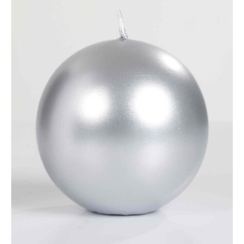 Light In the Dark Metallic Ball Candle
