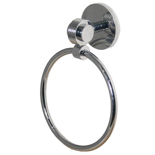 Allied Brass Universal Wall Mounted Single Towel Ring