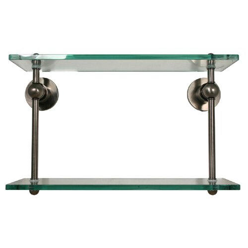 Allied Brass Astor Place Bathroom Double Shelf