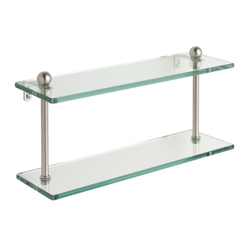 Allied Brass Universal Double Bathroom Shelf
