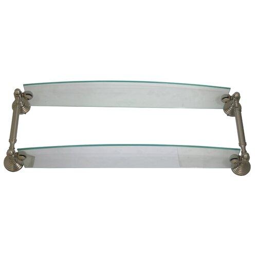 Allied Brass Waverly Place Double Bathroom Shelf