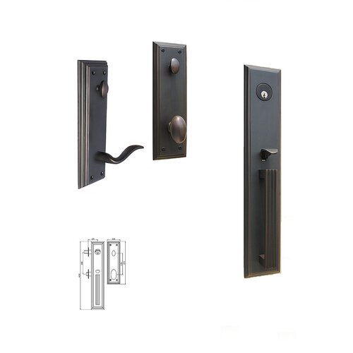 Double Hill USA Majestic Keyed Tubular Entry Set