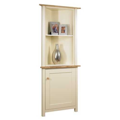 Papa Theo Small Corner Cabinet with Glass Front & Reviews | Wayfair UK