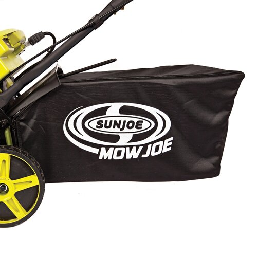 """Sun Joe Mow Joe 20"""" 3-in-1 Cordless Lawn Mower with Side Discharge, Rear Bag and Mulch"""