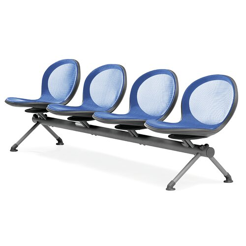 OFM Net Series Four Chair Beam Seating