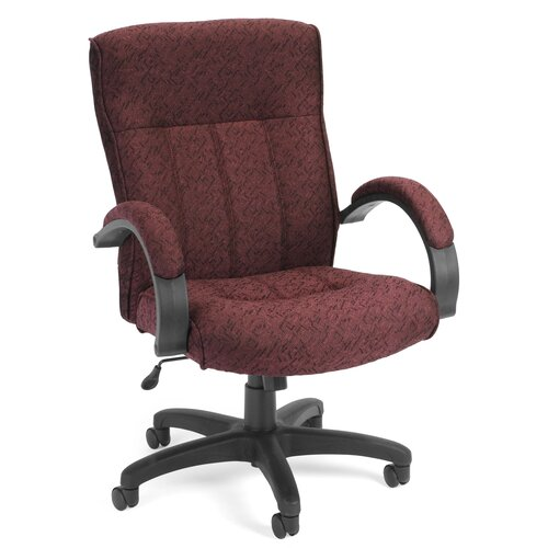 OFM Upholstered Executive Managerial Chair with Arms
