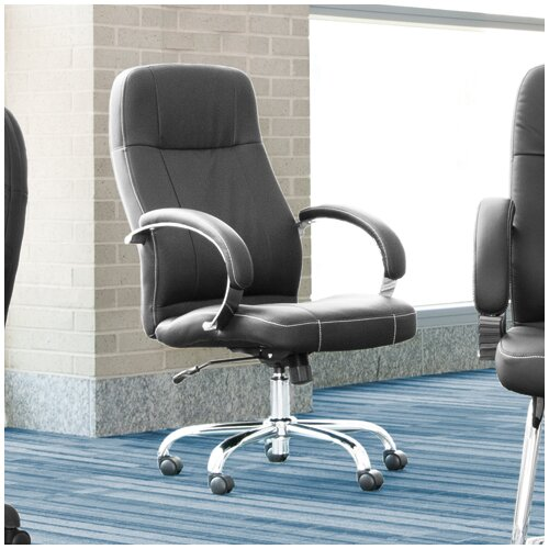 OFM High-Back Leatherette Executive Conference Chair with Arms