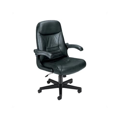 "OFM Executive ""MobileArm""  Leather Office Chair"