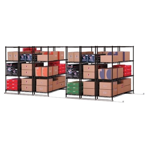 "OFM X5 Lite 74"" H 4 Shelf Shelving Unit Starter"