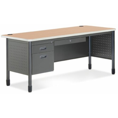 OFM Executive Series Computer Desk with Optional Return