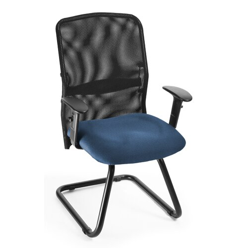 OFM AirFlo Mesh Guest / Reception Chair with Padded Arms