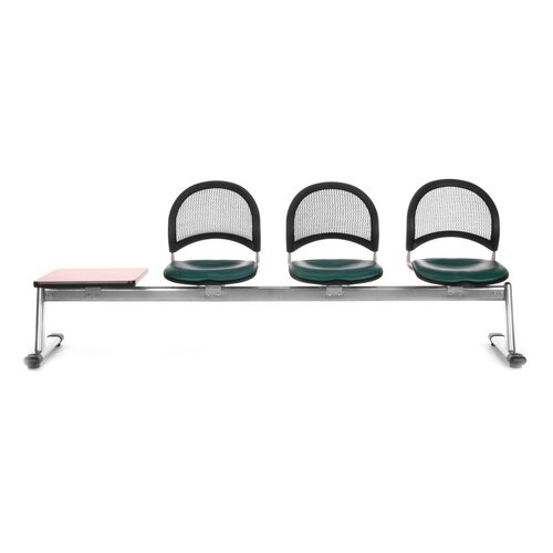OFM Stars and Moon Four Chair Beam Seating with Table