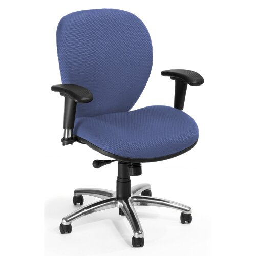 OFM ComfySeat Mid-Back Confrence Chair with Arms