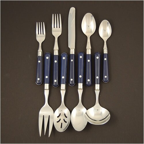 Ginkgo LePrix 44 Piece Flatware Set