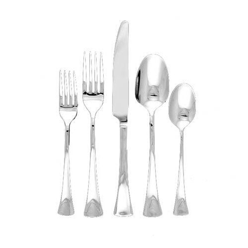 Ginkgo Woodruff 44 Piece Flatware Set