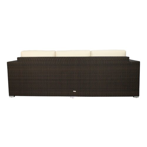 Source Outdoor King Sofa with Cushions