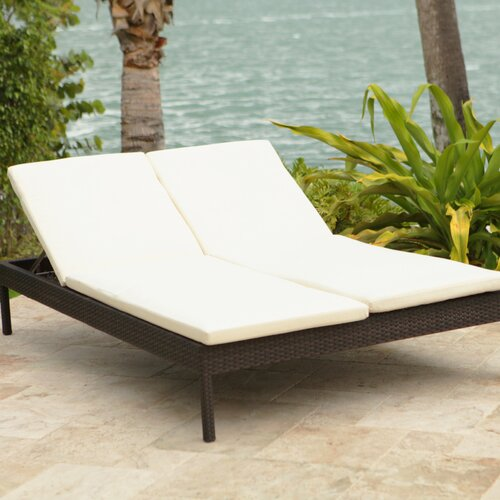 Manhattan Double Chaise Lounge With Cushion Wayfair
