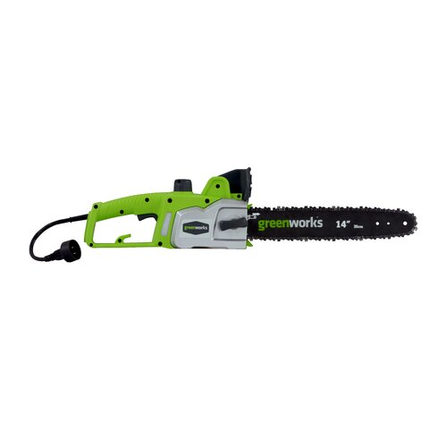 """GreenWorks Tools 14"""" 9-Amp Electric Chainsaw"""