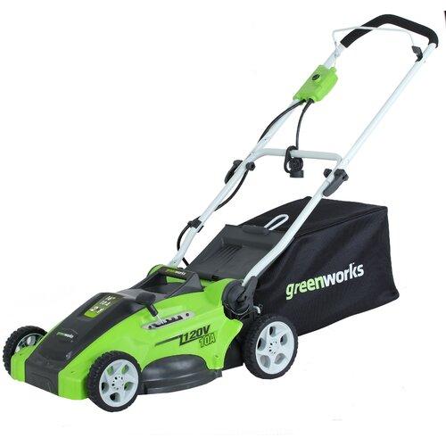 "GreenWorks Tools G-MAX 16"" Cordless Mower"