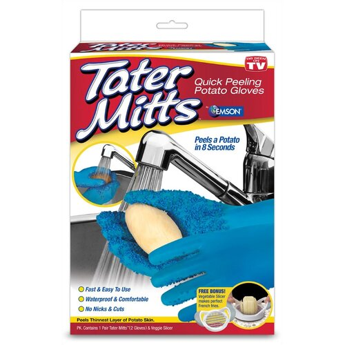 As Seen On TV by Emson Tater Mitts Peeling Gloves