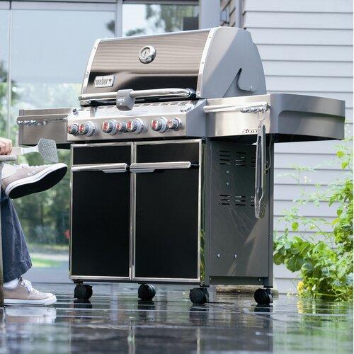 summit e 470 gas grill wayfair. Black Bedroom Furniture Sets. Home Design Ideas