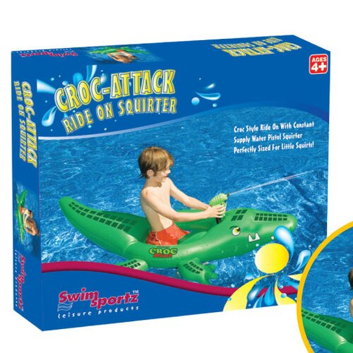 Croc Attack Squirter Pool Toy