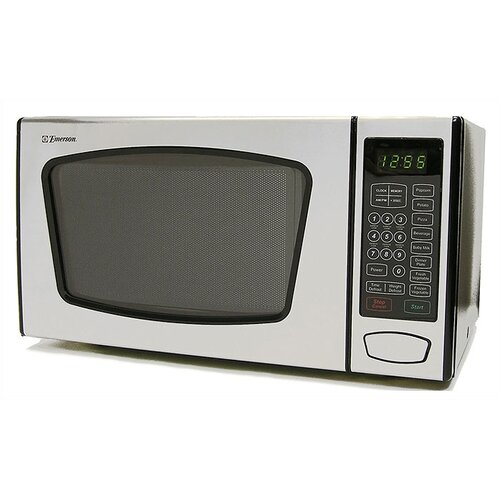 Emerson Countertop Microwave : Emerson Radio Corp. 0.9 Cu. Ft. 900W Countertop Microwave & Reviews ...