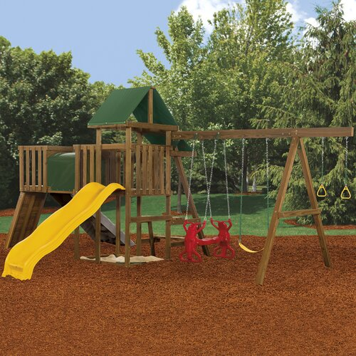 Rival Gold Swing Set