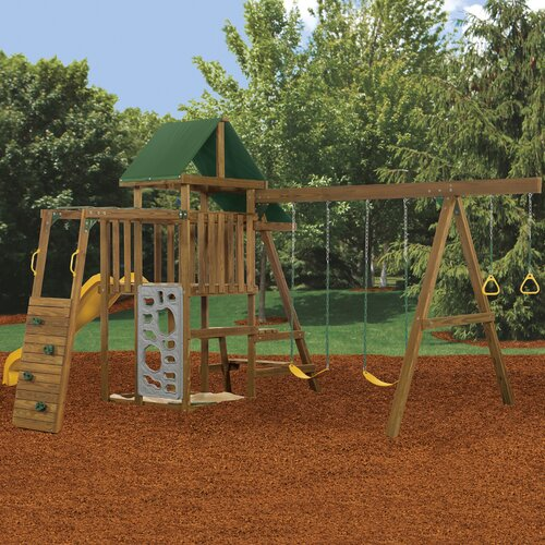 Playstar Inc. Rival Bronze Swing Set