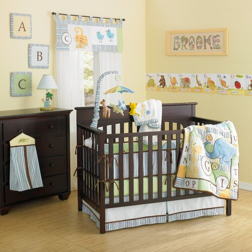 Laugh, Giggle & Smile ABC Animal Friends 10 Piece Crib Bedding Set