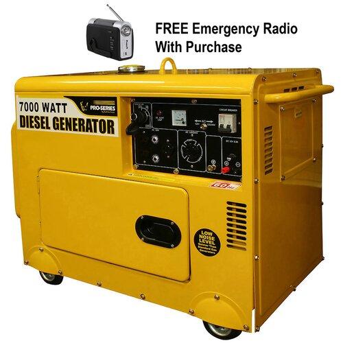 7000 Watt Diesel Generator