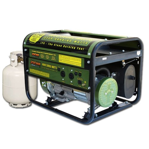 4,000 Watt Liquid Propane Generator