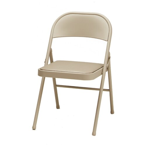Single Padded Folding Chair