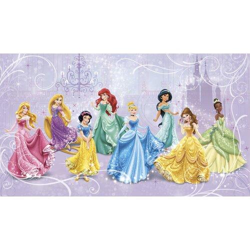 Walt disney kids ii disney princesses royal mural wayfair for Disney princess mural