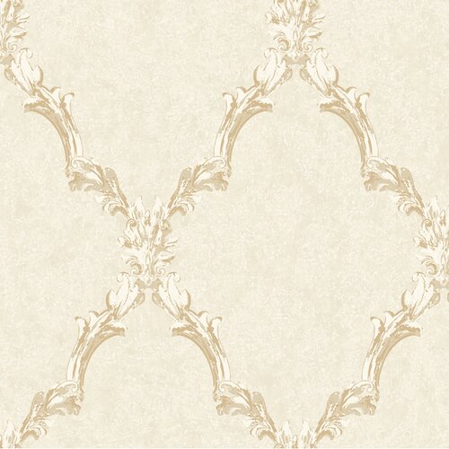 York Wallcoverings Heritage Home Emblem Frame Harlequin Wallpaper