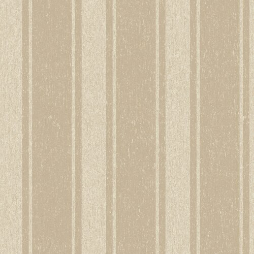 York Wallcoverings Heritage Home Romantic Stripe Wallpaper