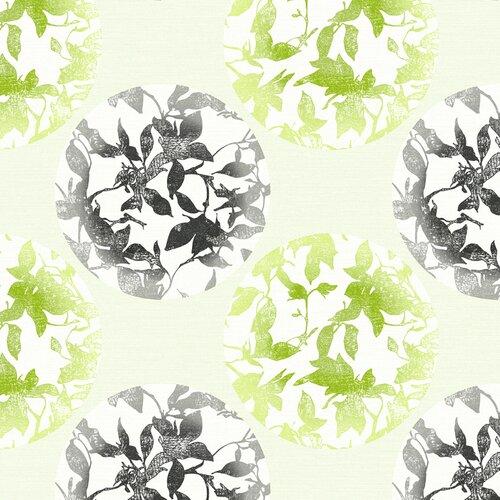 York Wallcoverings Risky Business Earthbound Floral Botanical Wallpaper