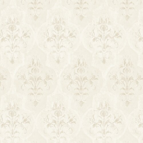 York Wallcoverings Fresco Moroccan Damask Wallpaper