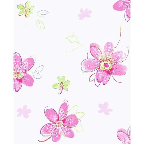York Wallcoverings Candice Olsen Kids Bohemian Floral Wallpaper Border