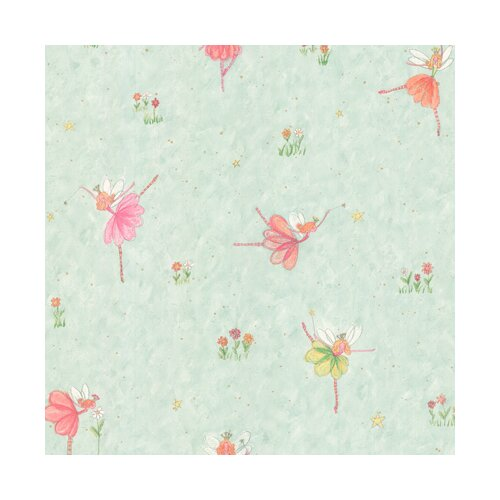 York Wallcoverings York Kids IV Fairy Wallpaper