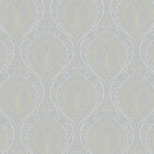 York Wallcoverings Candice Olson II Dimensional Surfaces Filigree Damask Wallpaper