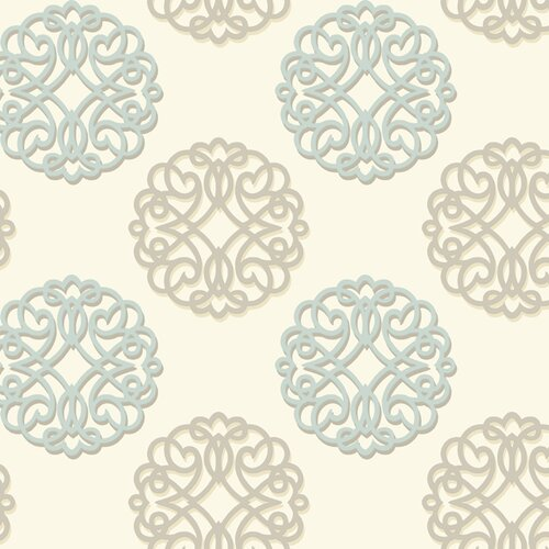 York Wallcoverings Candice Olson Shimmering Details Duo Wallpaper