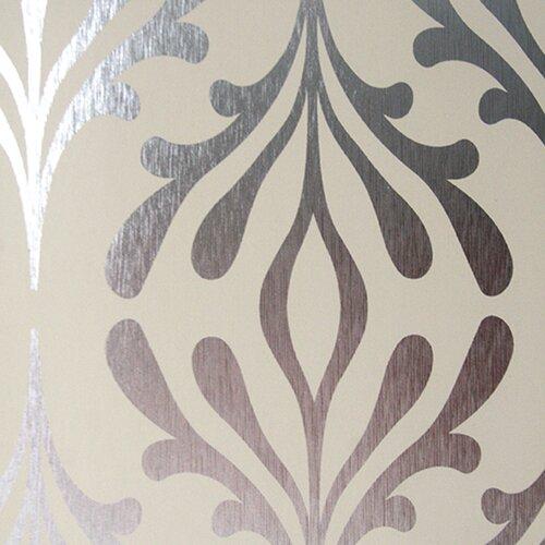 York wallcoverings candice olson inspired elegance for Wayfair bathroom wallpaper